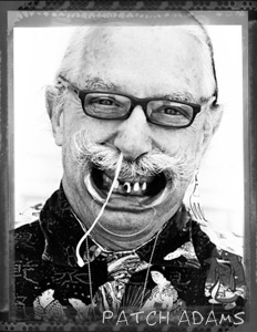 Patch Adams for BO magazine, Washington DC