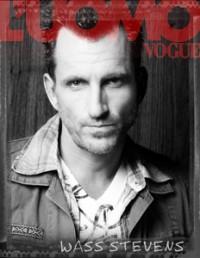 Wass Stevens Actor Uomo Vogue New York