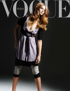 VOGUE ITALIA, Advertorial New York