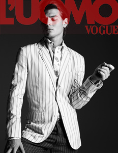 L'UOMO VOGUE, fashion guide 12 advertorial, New York