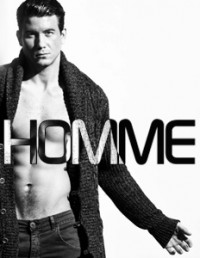 model Giordano for Homme magazine